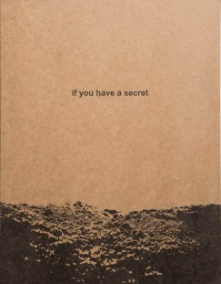 If You Have a Secret . Irina Popova1