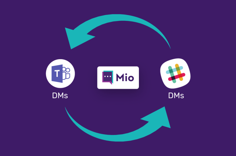 Connect Slack and Microsoft Teams DMs