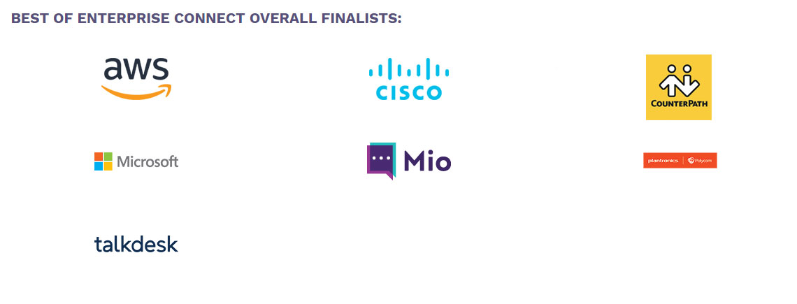 Best of Enterprise Connect finalists