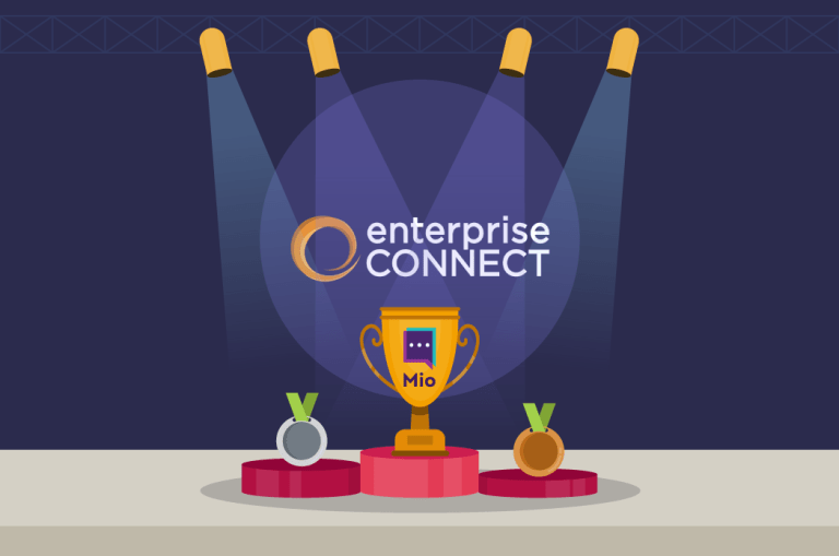 Mio wins Best Innovation for Collaboration at Enterprise Connect 2019