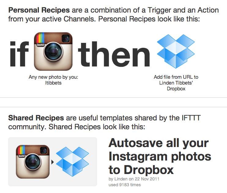 IFTTT example