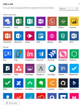 Microsoft Teams integrations