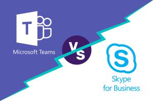 Microsoft Teams vs Skype for Business