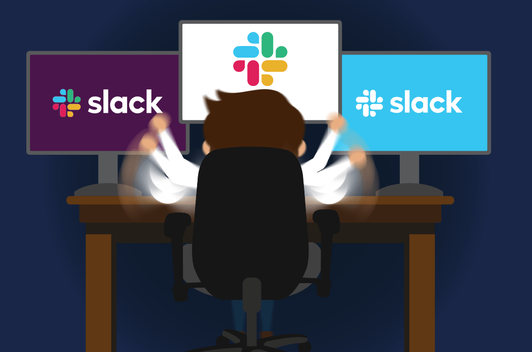 Slack is the most used app when multiple messaging platforms are in use
