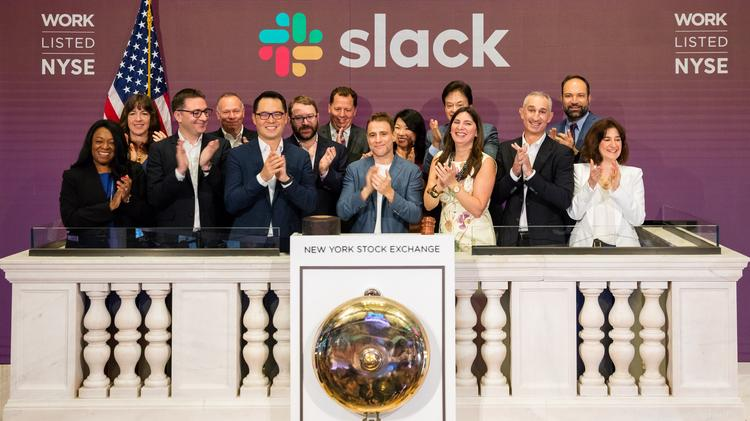 Slack recently launched on the NYSE