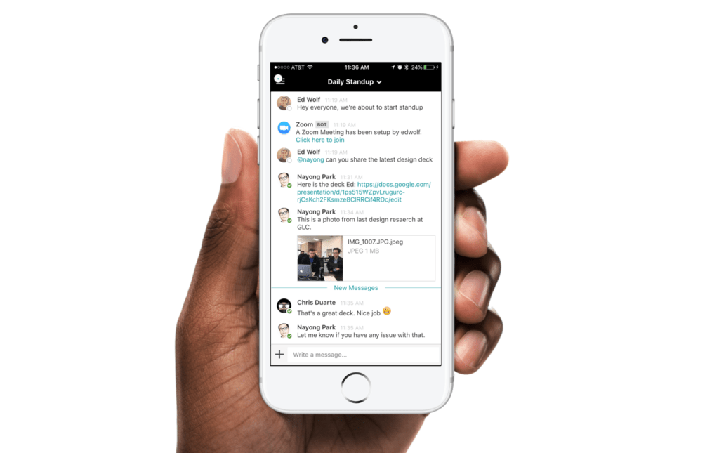 Uber uChat was built on Mattermost