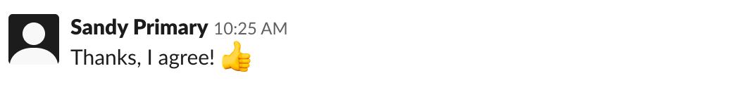 Slack emoji