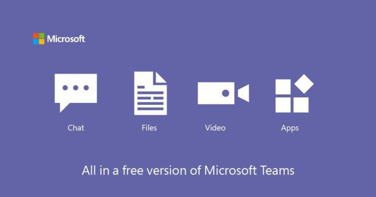Microsoft Teams is now free