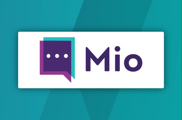 The new Mio logo