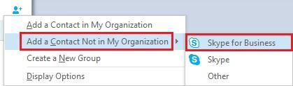 Skype for Business Federation