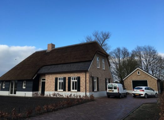 Dutch farmhouse in Leenderstrijp, Eindhoven best neighborhoods.