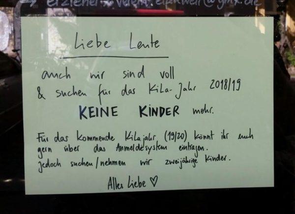 Kita crisis in Berlin