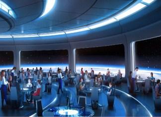 Epcot space restaurant concept art