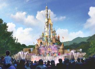 Hong Kong Disneyland new castle