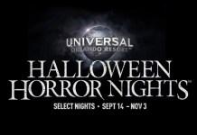 Logo for Universal Halloween Horror Nights 2018