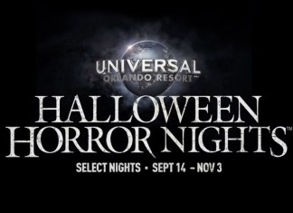 Logo for Universal Halloween Horror Nights 2018