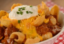 A photo of Totchos at Woody's Lunch Box