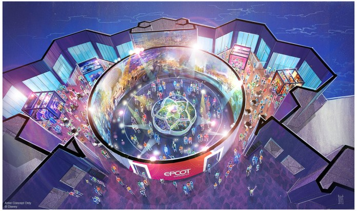 Disney Imagineering presents the Epcot Experience concept art