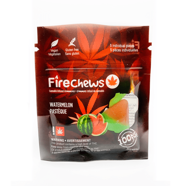 Fire Chews - Watermelon (100 MG THC)