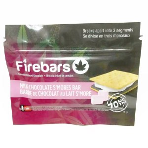 Fire Bars- Milk Chocolate S'mores Bar (140 MG THC)