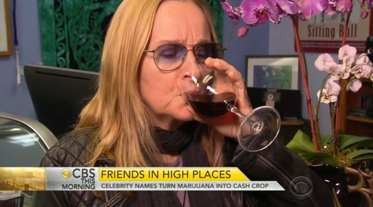 Buy Melissa Ethridge Cannabis Infused Wine Tincture Here