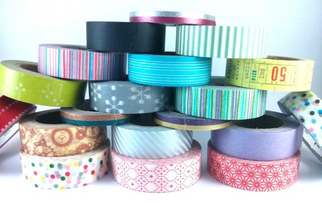 Colección de washi tape