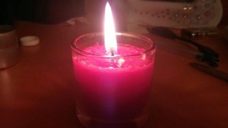 Dispersión: Cómo reciclar velas