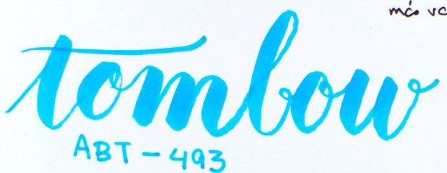 Rotuladores de punta de pincel: Tombow ABT