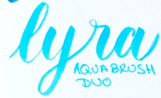 Rotuladores de punta de pincel: Lyra AquaBrush Duo