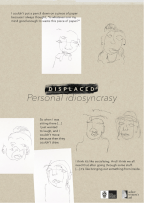 Participant 1, Personal Idiosyncrasy, Blind contour portraits of others.