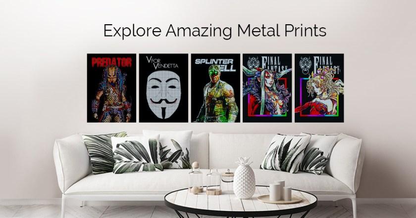 Pixel Geeks by Gab Fernando | metal posters