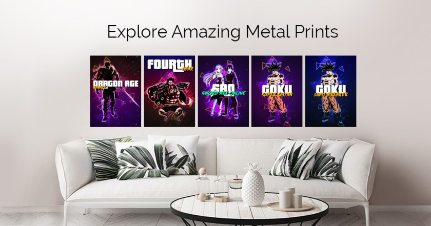 Retro Geeks by Gab Fernando | metal posters