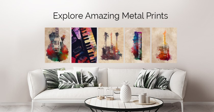 Music by Justyna Jaszke   metal posters