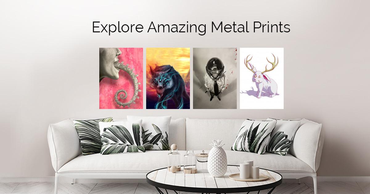 Illustration by Charlie N | metal posters