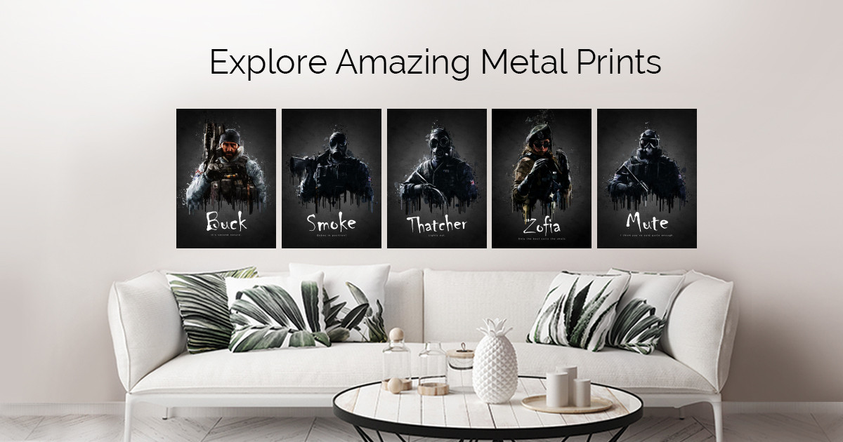 Acrylic Game Poster by TraXim Design | metal posters