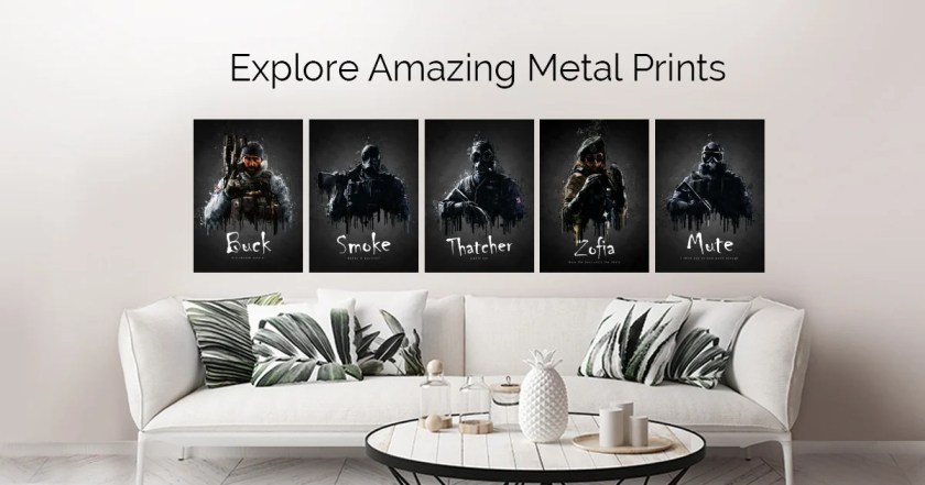 Acrylic Game Poster by TraXim Design   metal posters