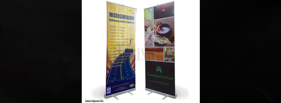How to design a Banner Stand?...