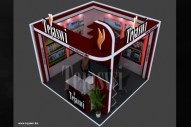 3X3 Meter Exhibition Stall Design