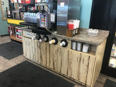 Convenience Store Counters - Beverage Bar