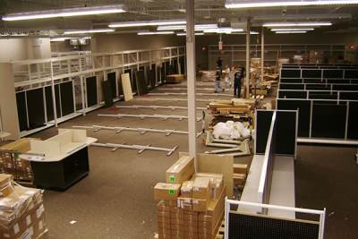Fixture Installation - Office Depot