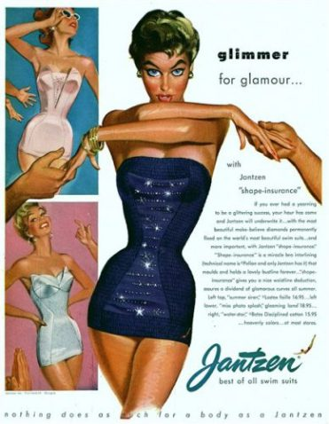 Exposition Pin-Up maillot de bain Jantzen