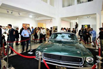 Steve McQueen Voiture Cabriolet Jaguar XK SS