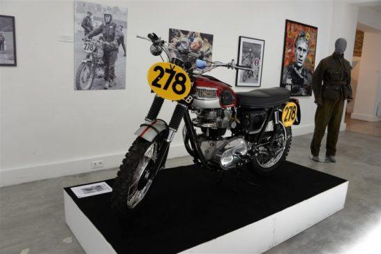 Steve McQueen Moto