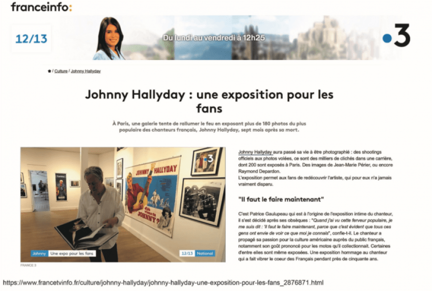 Exposition Johnny France Info