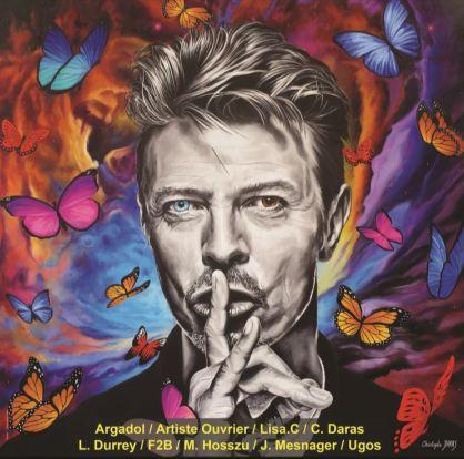 Pop Art Christophe Darras David Bowie