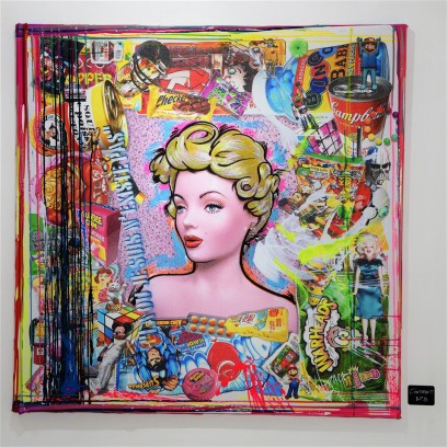 Exposition Expo Pop-Art Pop-Up Cintract