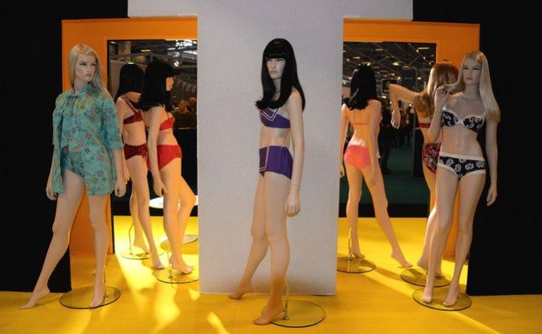 Exposition Bikini Nuits de Satin 1960 st Tropez