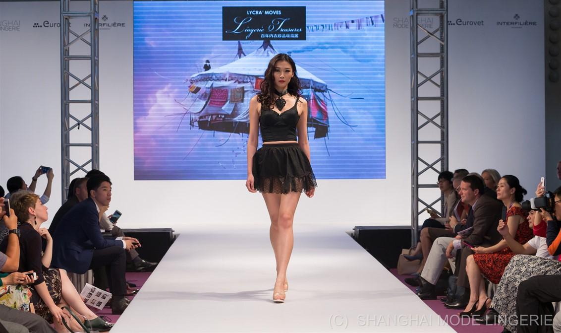17 Fashion show-Shanghai-Lingerie-vintage-Mode City