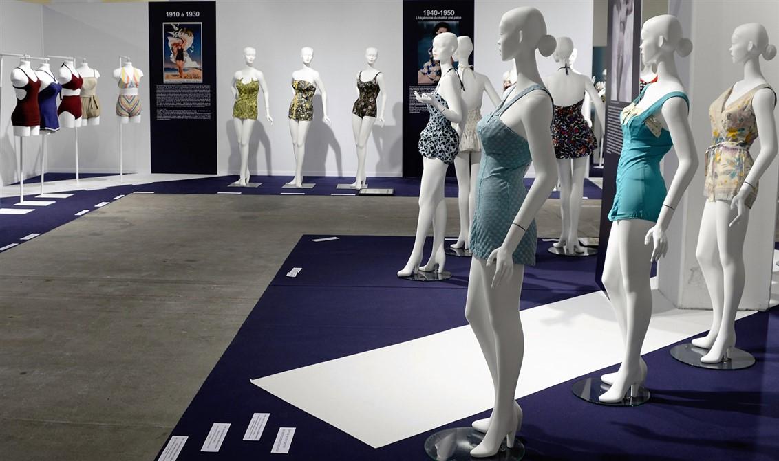 18 exposition- 70 ans Bikini-maillots de bain- Lyon-La Sucrière-Nuits de satin