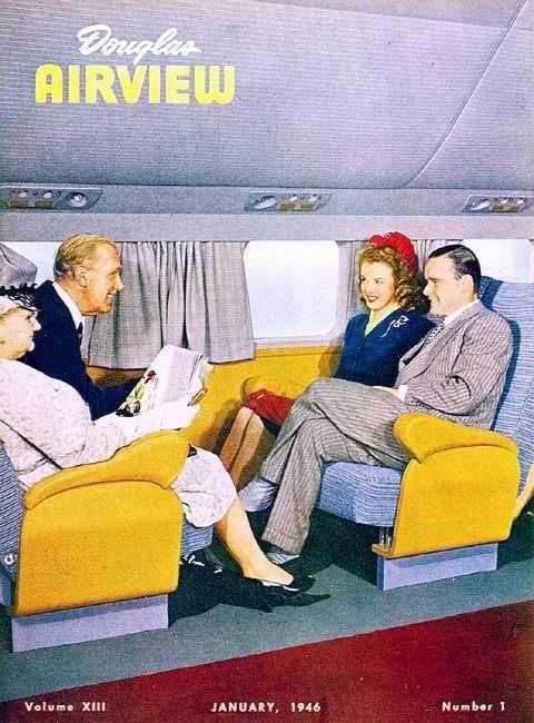 Marilyn Douglas Airview 1945